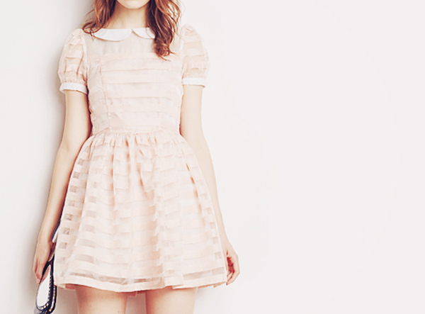 Cute And Feminine Korean Dress For Teen Girls