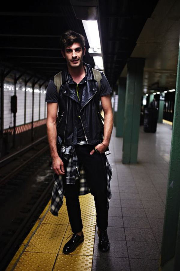 Men Grunge Fashion