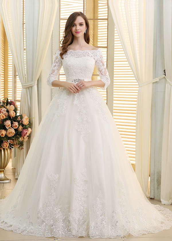 25 Timeless And Classic Ball Gown Wedding Dresses | Fashionlookstyle ...