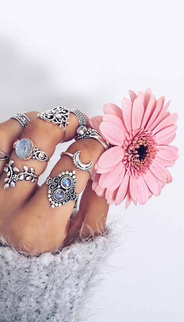25 Gorgeous Boho Jewelry With Hippy Retro Style
