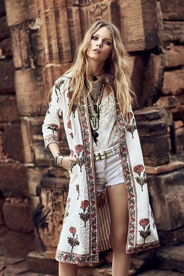 20 Artistic And Ethnic Boho Fashion Inspirations