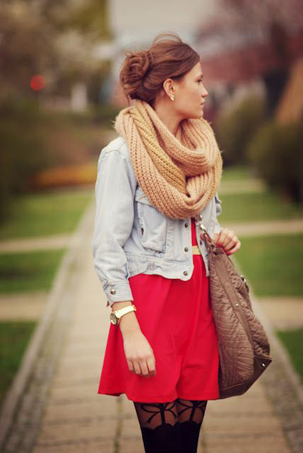 25 Fashionable Scarf Ideas For Winter