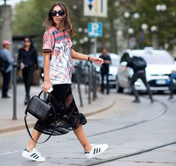 adidas street style shoes