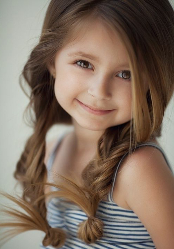25 Cute And Adorable Hairstyles For Your Little Girls