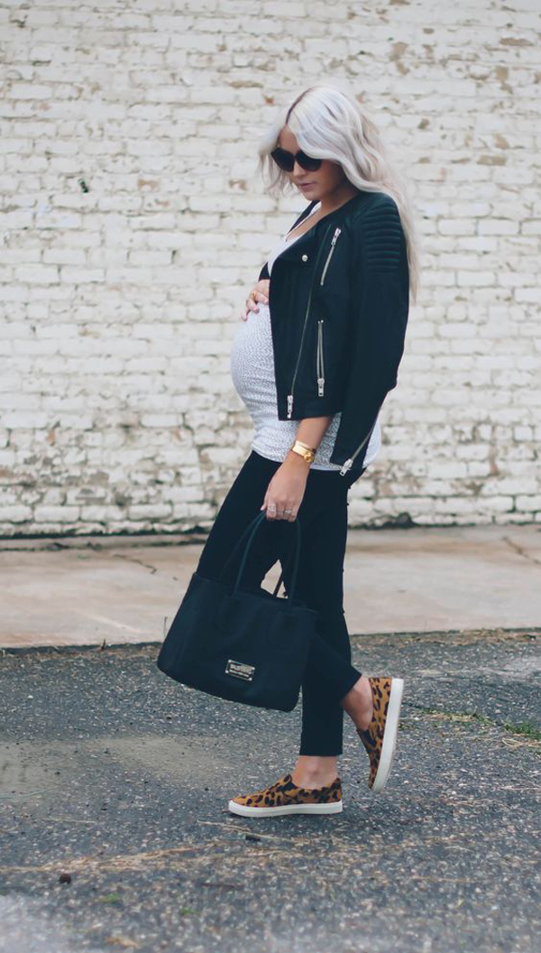 30 Cool And Fashionable Maternity Street Styles Fashionlookstyle