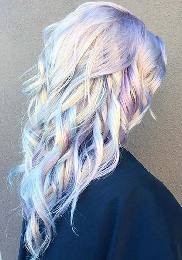 Silver Pastel Hair Color Ideas