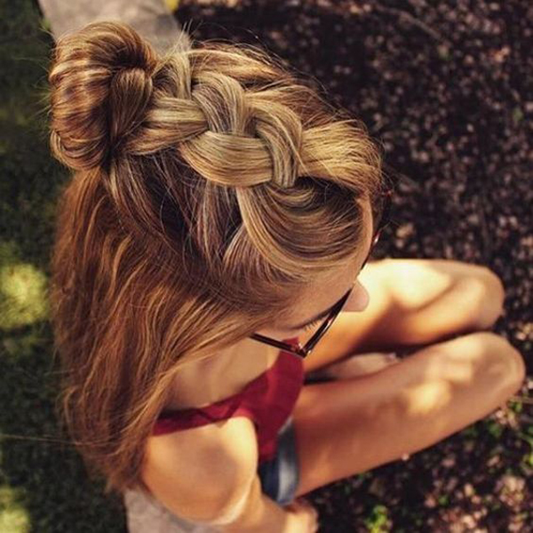 25 Trendy Teen Girl Hairstyles For School
