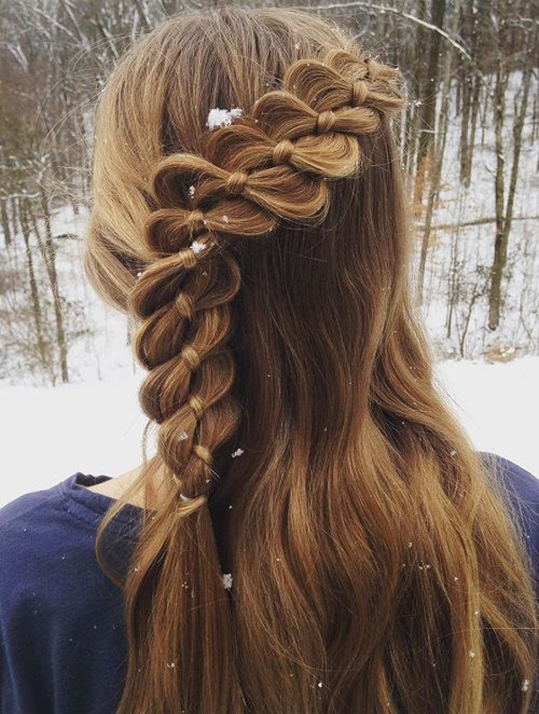 25 Trendy Teen Girl Hairstyles For School | FashionLookStyle