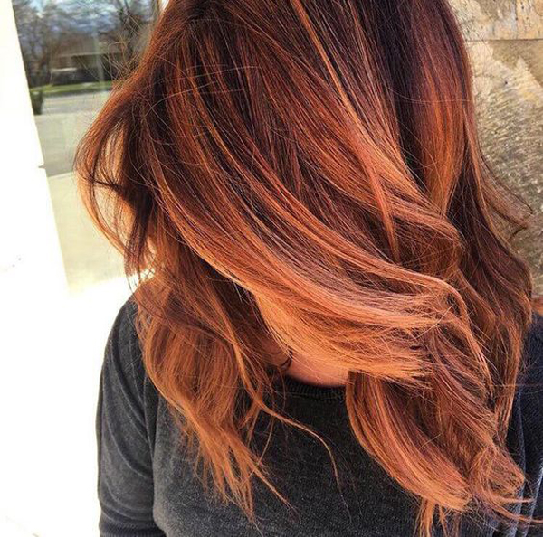 25 Red Balayage Hair Colors For Trends 2017   Fashionlookstyle.com ...