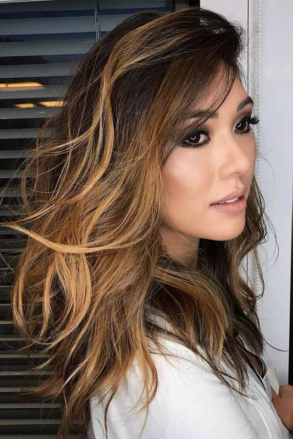 25 Beautiful Brown Balayage Hair With Caramel Colors