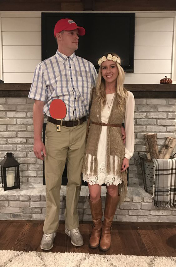 sc 1 st  Fashionlookstyle.com & forest-gump-and-jeny-halloween-costume-couples