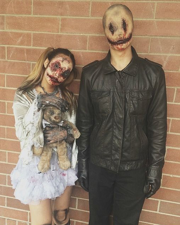 spooky halloween costumes for couples