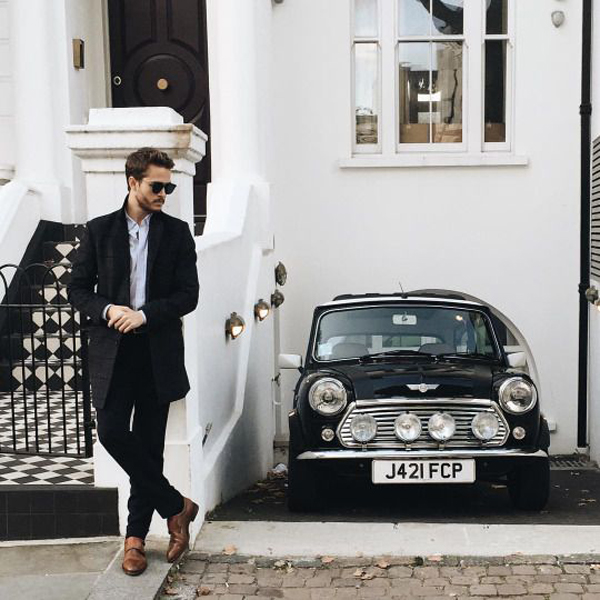 20 Cool And Masculine Men Styles With Sporty Cars