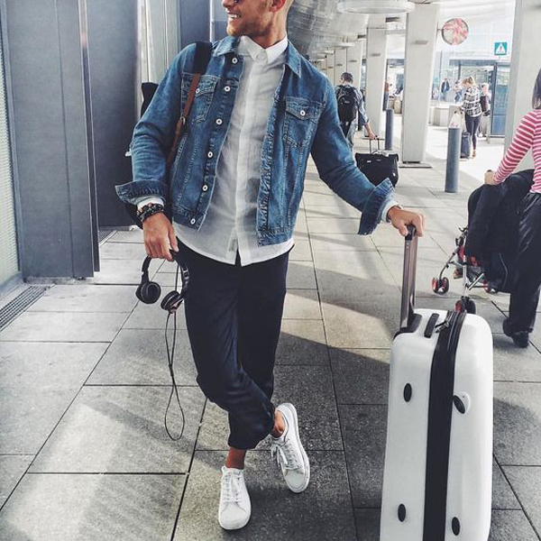 20 Cool And Trendy Airport Style For Man