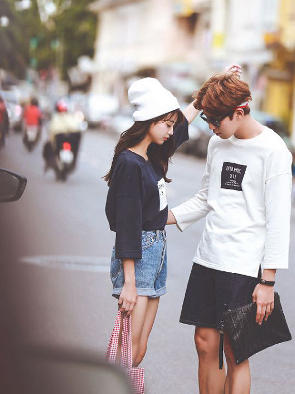 20 Sweetest Korean Couple Outfits That Make You Jealous
