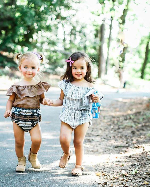 Bohemian-Inspired Style For Little Girl's