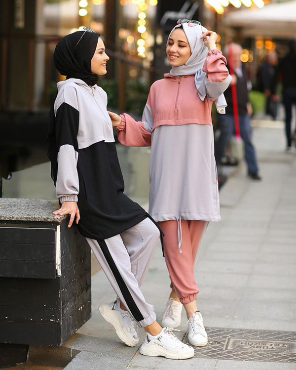 50 Chic And Comfy Hijab Outfits For Sport Lovers ...