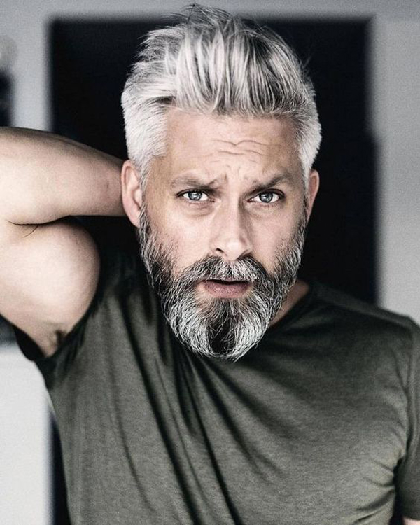 nice-grey-short-hairstyle-for-older-men | Fashionlookstyle ...