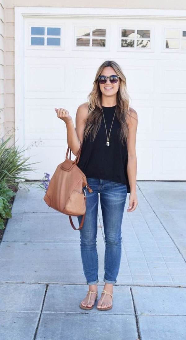 Trendy Summer Outfits For Young Mom Fashionlookstyle