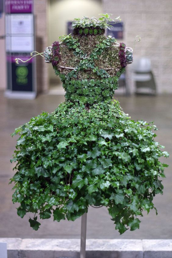 20 Unique Plant Dress With Nature Inspired