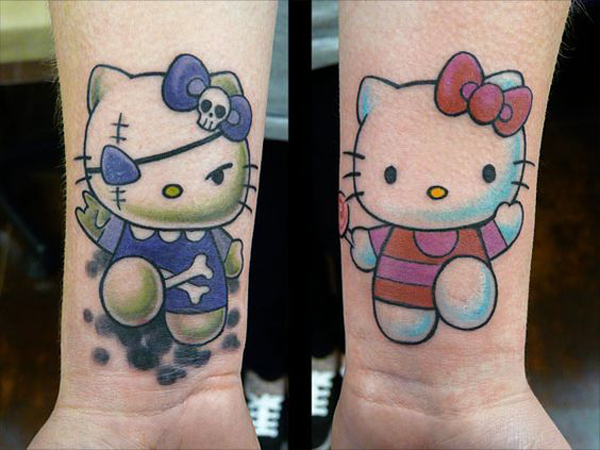 34 Most Adorable Hello Kitty Tattoo Ideas