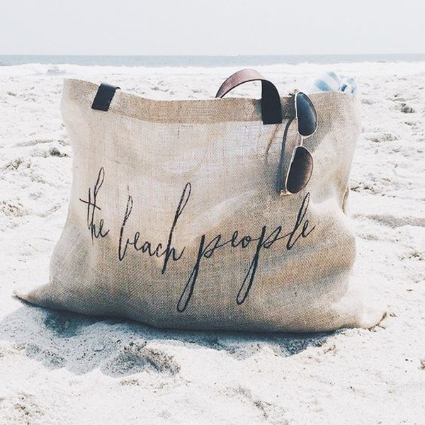 25 Trendy Beach Bags To Easy Going This Summer