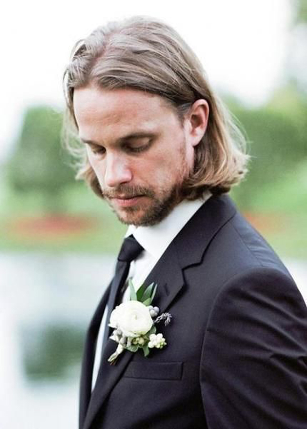 35 Tidy And Formal Wedding Hairstyles For Men S Fashionlookstyle