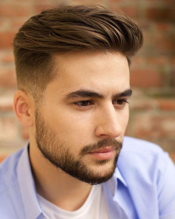 37 Tidy And Stylish Short Hairstyles With Beards For Men S Fashionlookstyle
