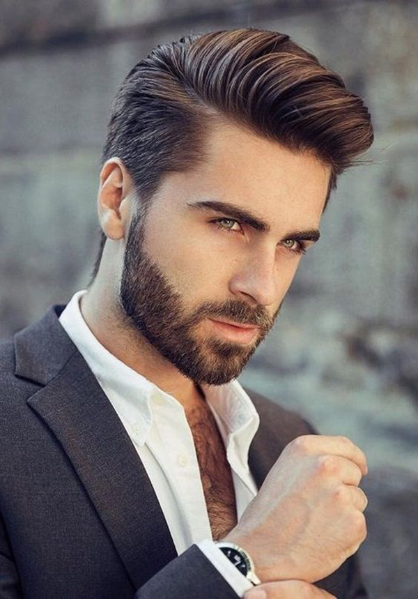 35 Tidy And Formal Wedding Hairstyles For Men's
