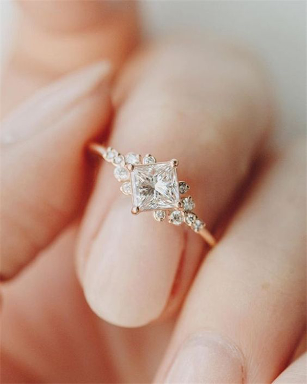 40 Best Engagement Rings For Girls Who Make Happy Ending