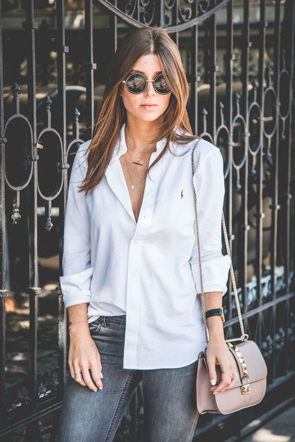 27 Most Popular White Shirt Outfits For Women