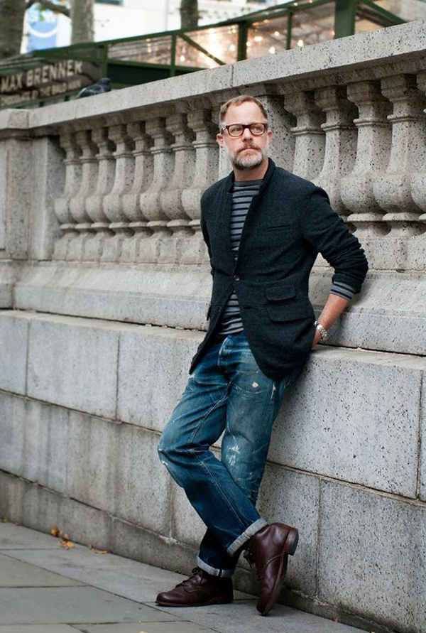 25 Fashionable Older Men Outfits For This Fall
