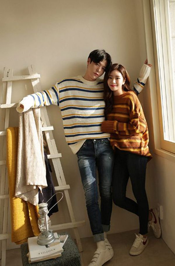 cute-korean-couple-outfits-for-winter | FashionLookStyle