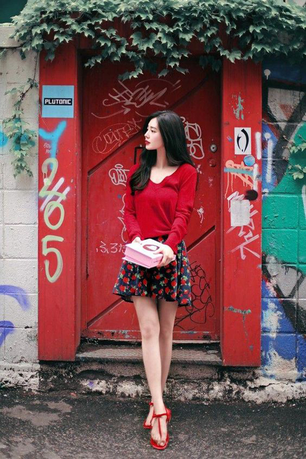 34 Inspiring Sweet Dress For Korean Teen Girls