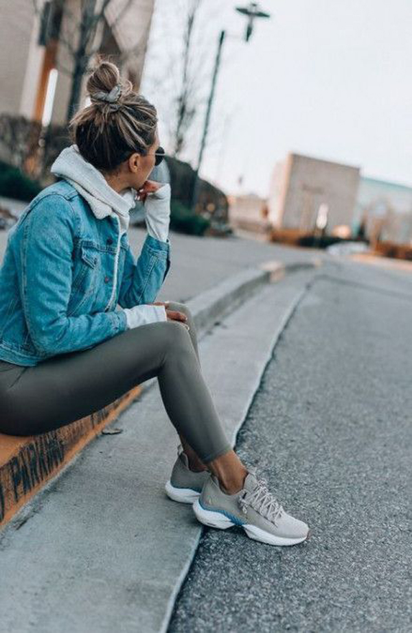 25 Cozy Sporty Outfit Ideas For This Winter