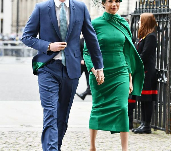 Duke and Duchess of Sussex Style, Harry and Meghan Markle Look charming