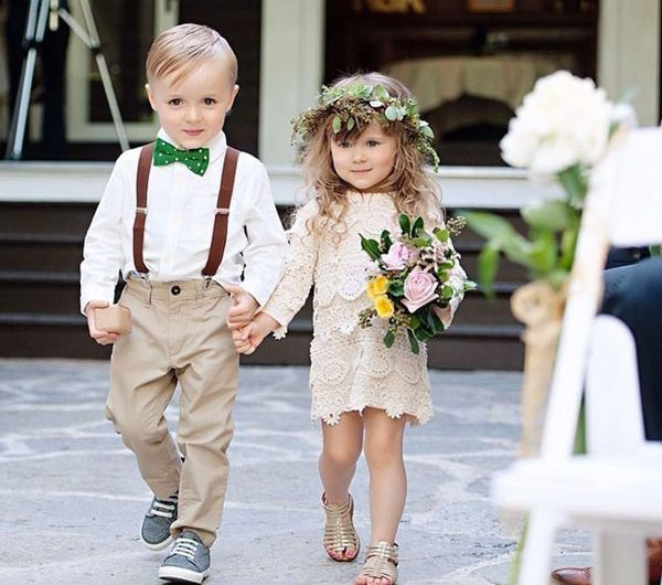 Flower Girl and Junior Bridesmaid Style Idea for Your Wedding Day