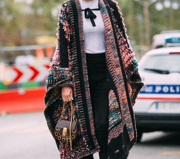 Patterned Coat for Your Style is More Trendy