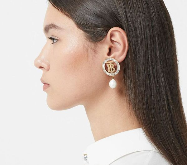 Burberry's cool earrings collection