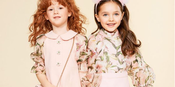 Children's Clothing Trends with Adorable Puffy Sleeves