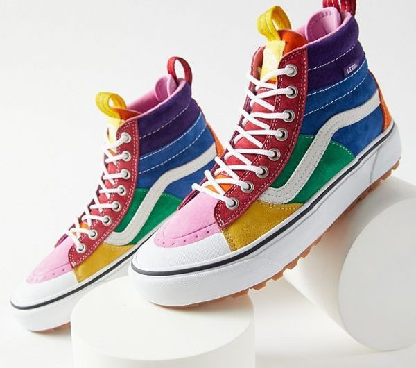 The Colorfull Sneakers Make Your Style More Fun