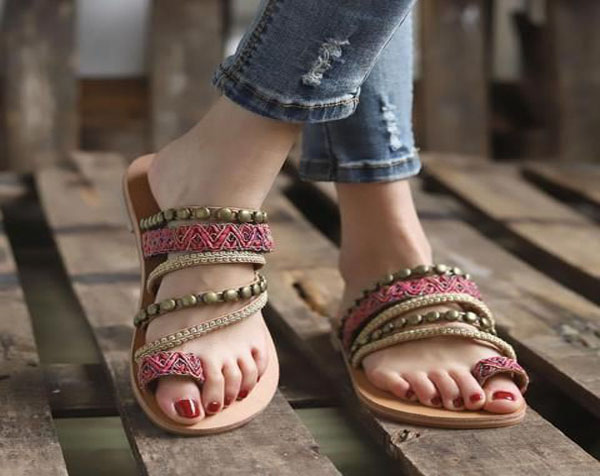Unique Style with Comfortable Bohemian Sandals