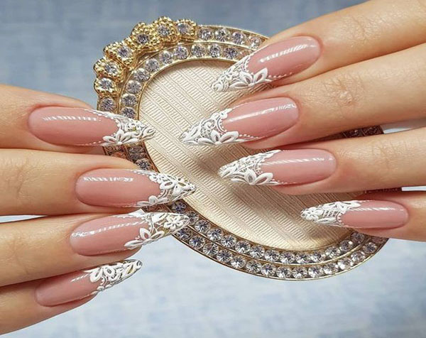 3D Nail Art that Adds to the Beauty of Your Nails on a Special Day