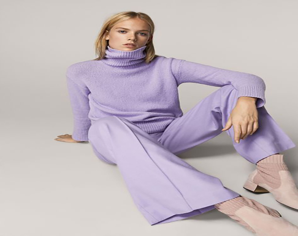 Lilac Outfit for a Charming Elegant Style