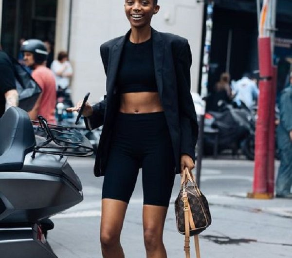 Bike Shorts Pants Style Ideas to Make You Look More Charming